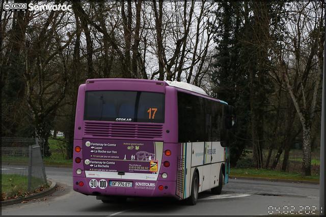Otokar Vectio U – Sovetours (Groupe Fast, Financière Atlantique de Services et de Transports) / Aléop – Pays de la Loire n°340