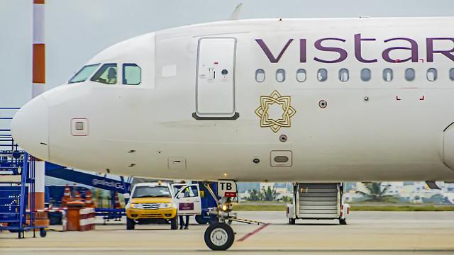 Vistara Airbus A320 VT-TTB Bangalore (BLR/VOBL)