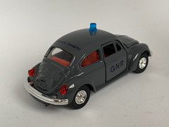 Tomica Dandy Japan - Number F21 - Volkswagen 1200 LE - GNR Brigada de Transito - Portuguese Police Car - Miniature Diecast Metal Scale Model Emergency Services Vehicle