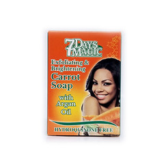 7 Day Magic Carrot Soap 200g