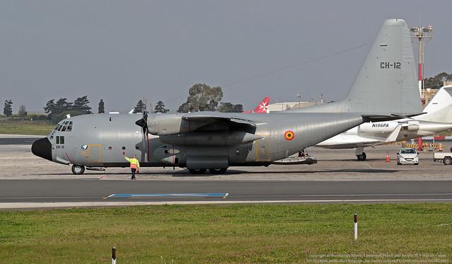 CH-12 LMML 28-02-2021 Belgium - Air Force Lockheed C-130H Hercules CN 382-4483