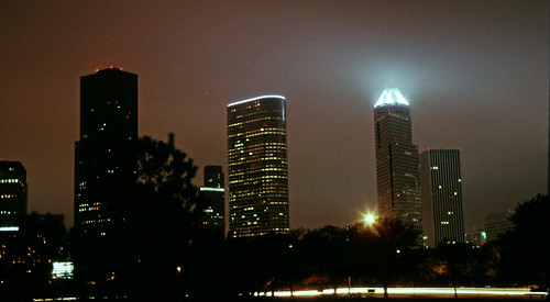 Downtown Houston at Night (1)