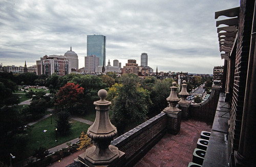 Boston's Back Bay Viewed From A Beacon Street Penthouse (1)