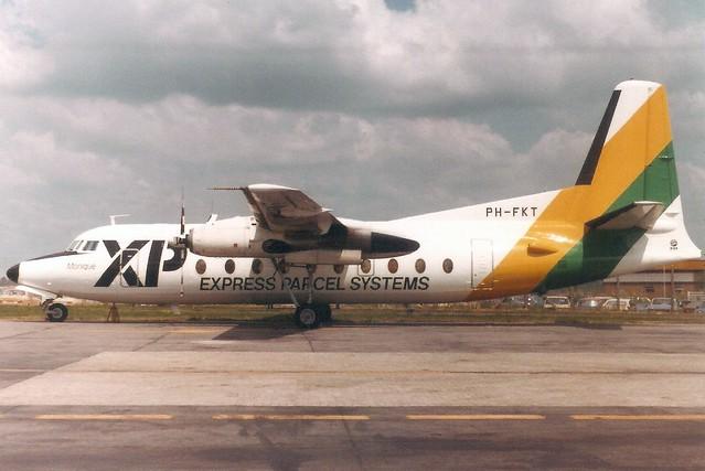 PH-FKT F27 10323 LTN Jun-83