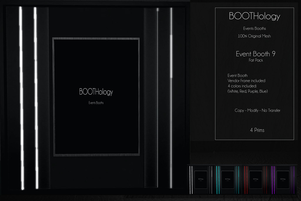 Bothology - Event Booth 9 AD