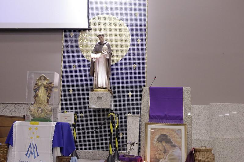 Visitação da Imagem Peregrina de Nossa Senhora da Conceição na Paróquia Santo Alberto Magno e Nossa Senhora das Graças