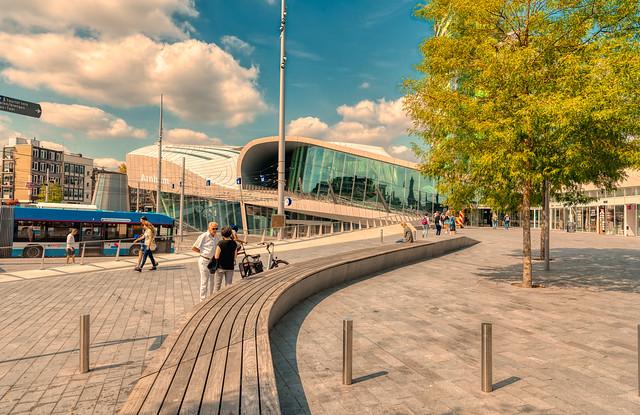 Arnhem Central Station.