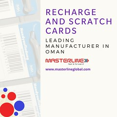 Masterline Recharge and Scratch Cards  Leading Manufacturer in Oman