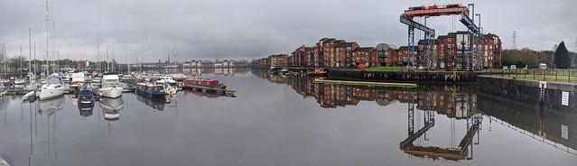 Preston Docks panorama
