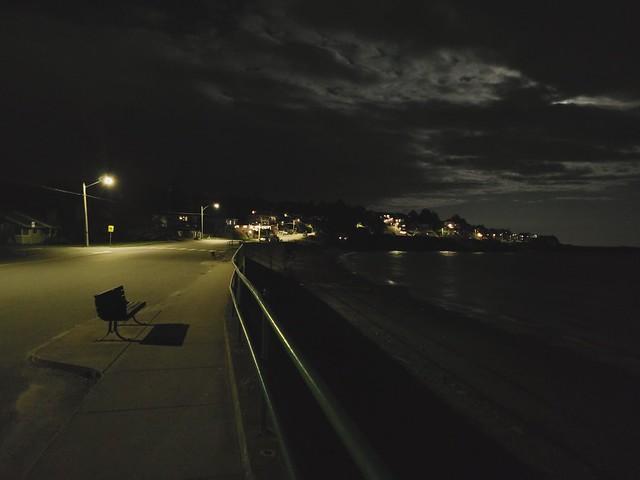 McNeil bay at night
