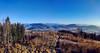 Výhľad z vrchu Tábor