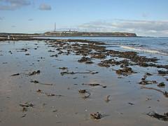 Hewlgoland, Du00fcne-Nordstrand mit Blick auf Hauptinsel