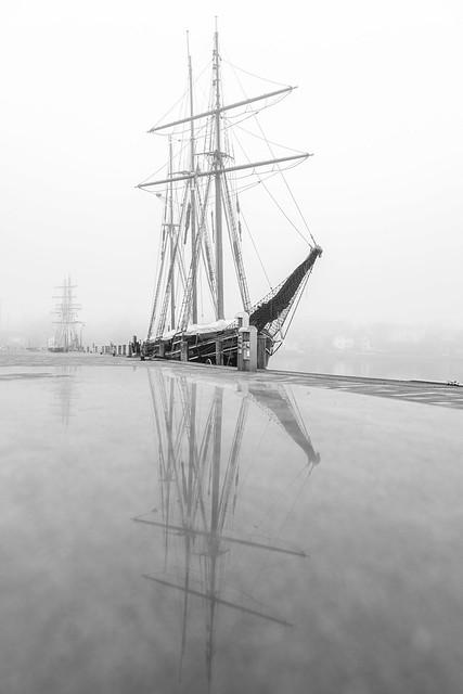 Früh morgens am Eckernförder Hafen