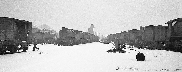 Great Central Railway Annesley Nottinghamshire 17th February 1963