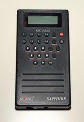 Novag Sapphire. Made in China. 1994
