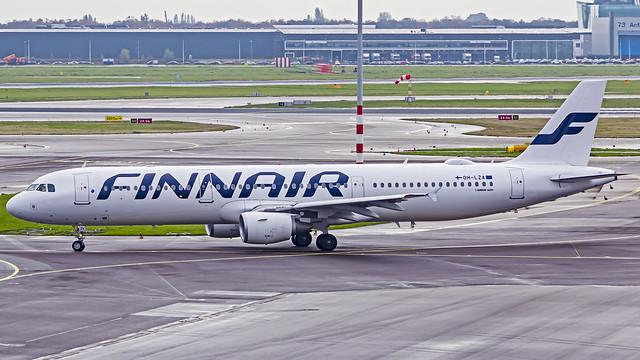 Finnair Airbus A321 OH-LZA Amsterdam Schiphol (AMS/EHAM)