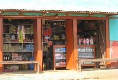 Trackside shop near Chisapani, Pokhara, Nepal
