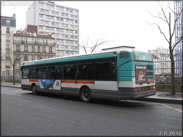 Renault Agora S – RATP (Régie Autonome des Transports Parisiens) / STIF (Syndicat des Transports d'Île-de-France) n°7525