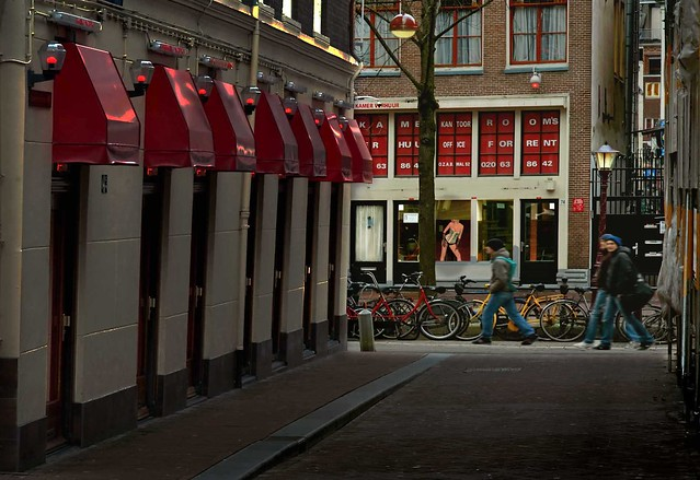 In the heart of Amsterdam