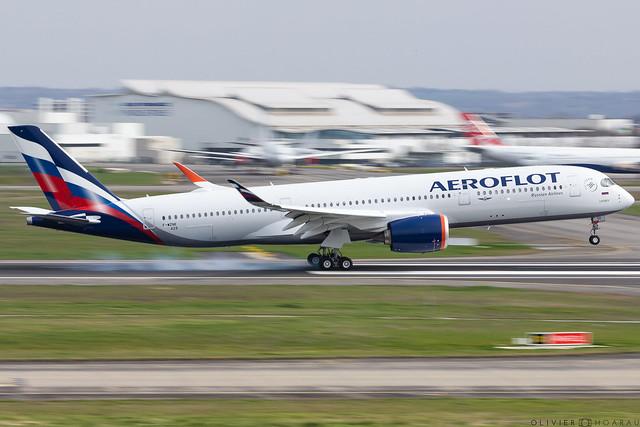 A350-941 Aeroflot F-WZNE msn429 VP-BXD