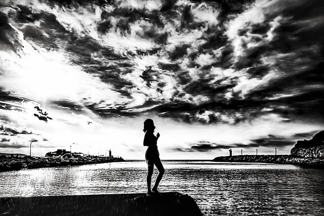 The Silhouette & Dramatic Sky