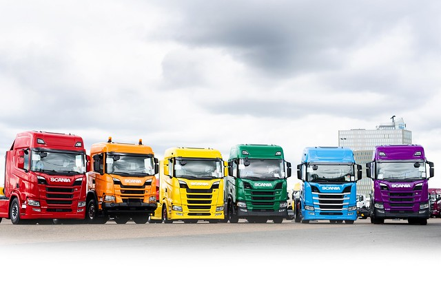 New, immediate delivery Scania trucks from Keltruck