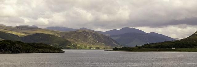 Light and Shade around Loch Broom - near Ullapool - Scottish Cruise 32