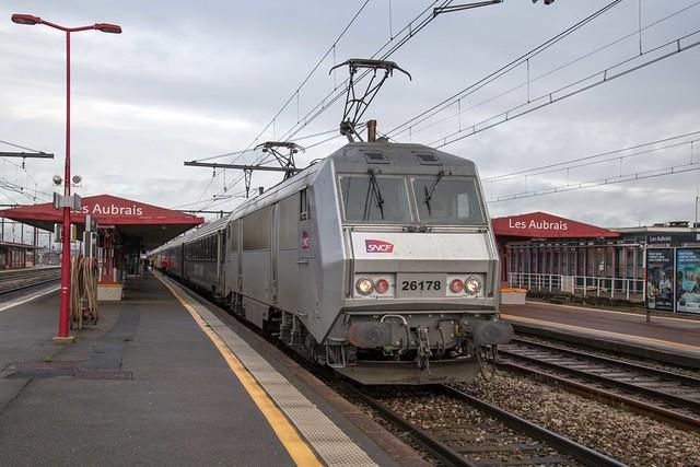 SNCF Fret 26178 Les Aubrais