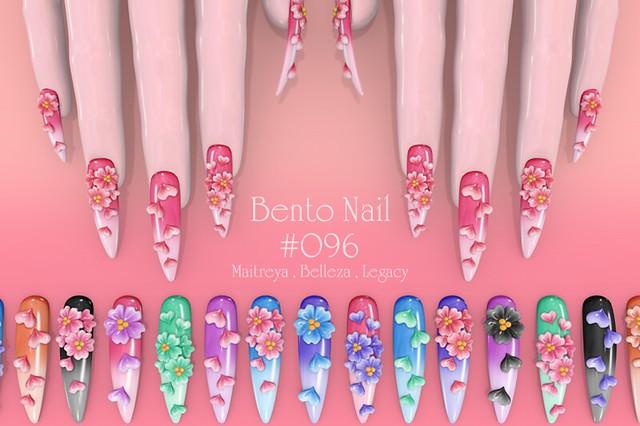 BENTO NAIL #096