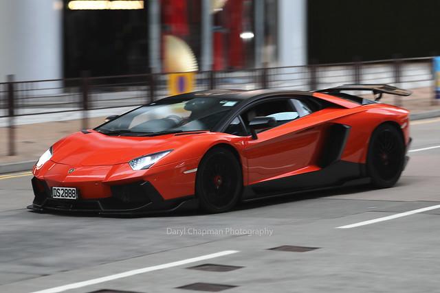 Lamborghini, Aventador, Tsim Sha Tsui, Hong Kong
