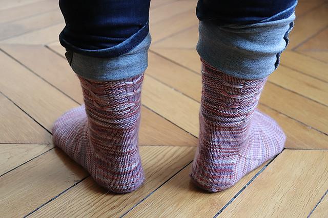 Dancing Butterfly Socks