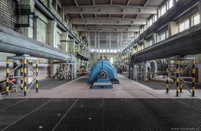 Disused power plant