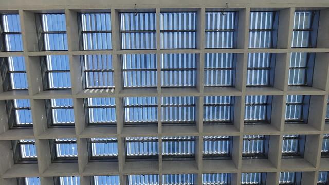 1997/2000 Berlin Vordach mit Oberlicht Paul-Löbe-Haus von Stephan Braunfels Konrad-Adenauer-Straße 1 in 10557 Tiergarten