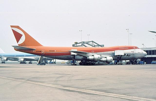 C-FCRE Boeing 747-217B