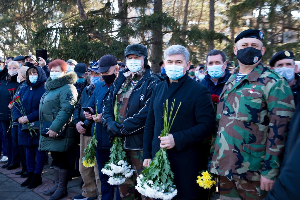 02.03.2021 Participarea la acțiunile prilejuite de Ziua Memoriei și Recunoștinței