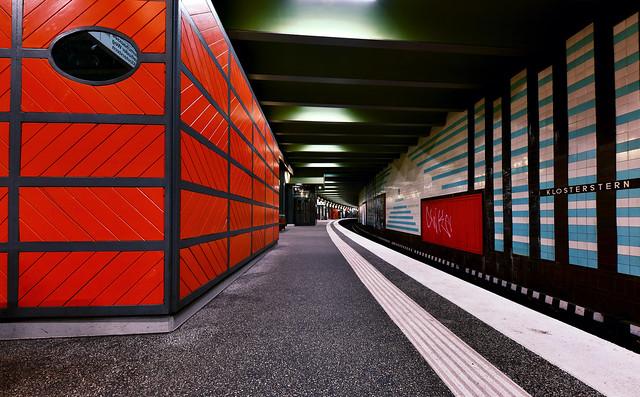 Hamburg; U-Bahnhof Klosterstern