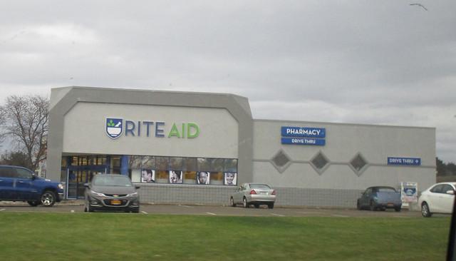 Rite Aid's New Signage