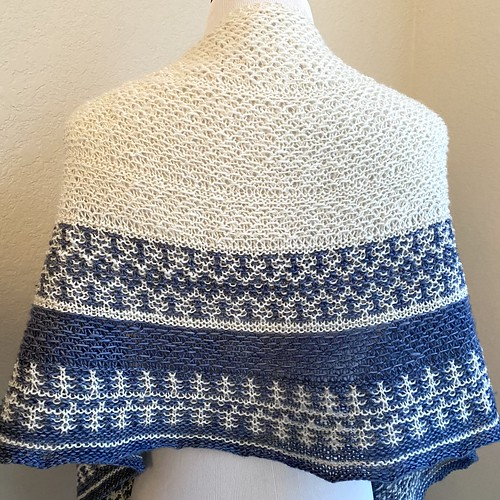 4ever in blue jeans shawl