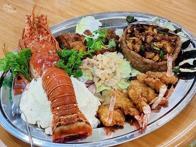 wong sifu lobster platter