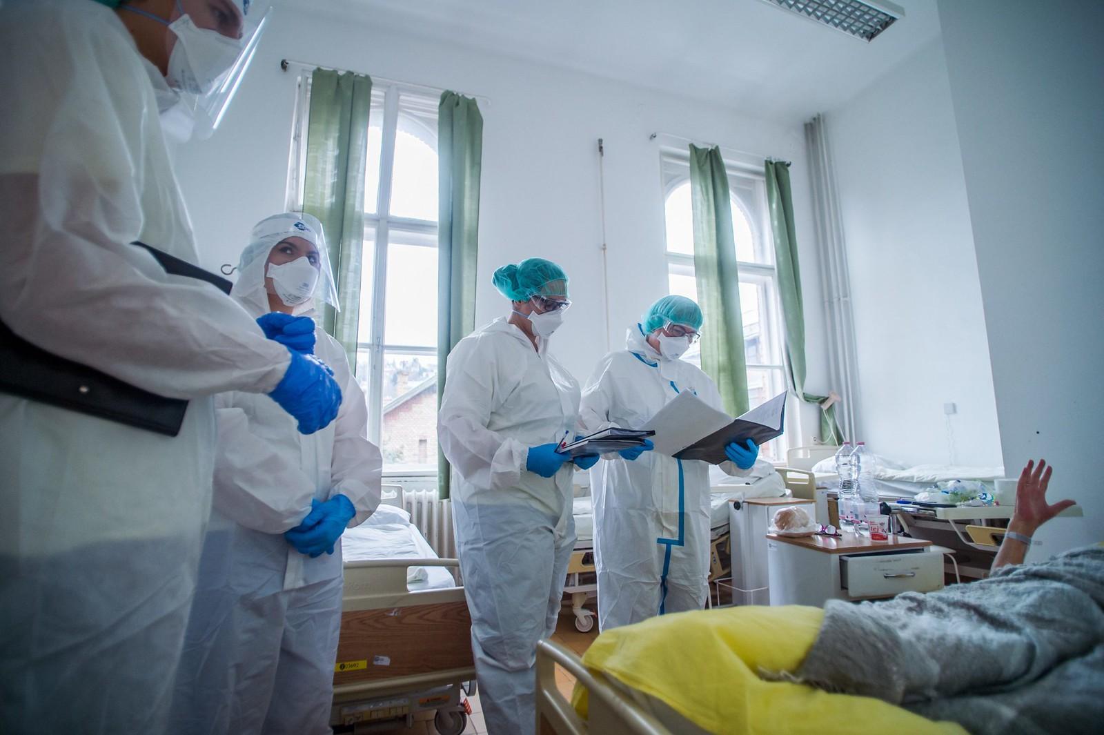 A magyar egészségügyi dolgozók 5%-a nem dolgozik mától