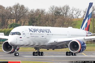 Aeroflot - Russian Airlines Airbus A350-941 cn 429 F-WZNE // VP-BXD