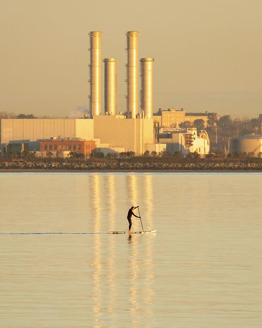 Dublin bay paddle boarding