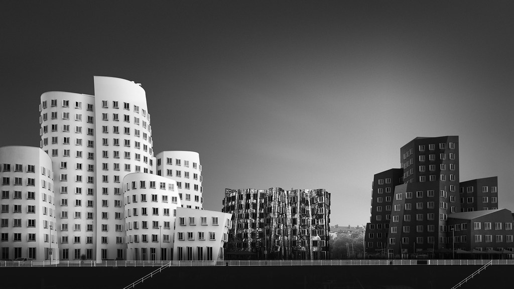 *Gehry buildings Dusseldorf, Germany, 2019*