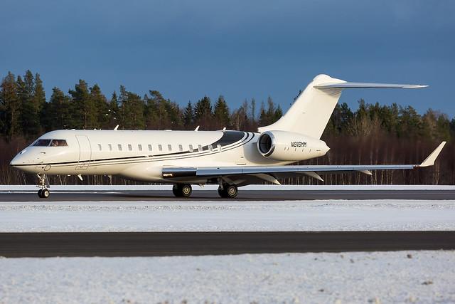 N916MM Bombardier BD-700-1A10 Global 6000