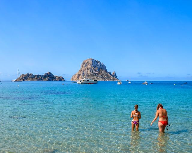 Cala d'Hort, uno de los lugares que ver en Ibiza