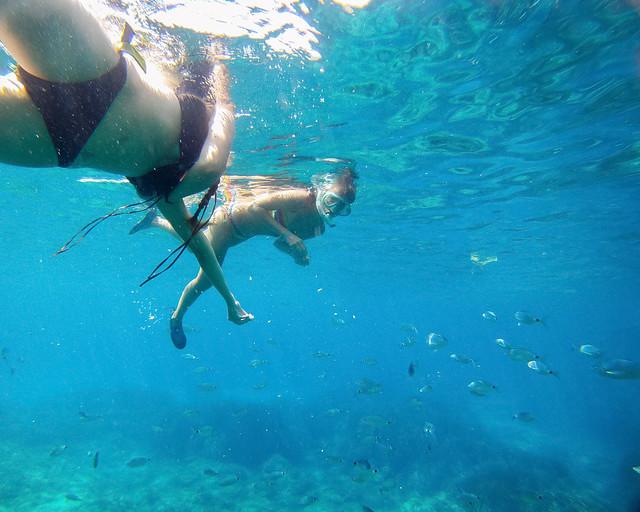 Snorkel en Cala Salada