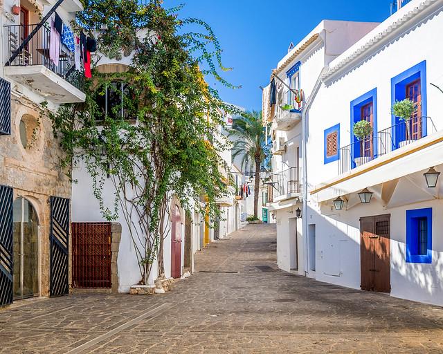Casco histórico de Ibiza