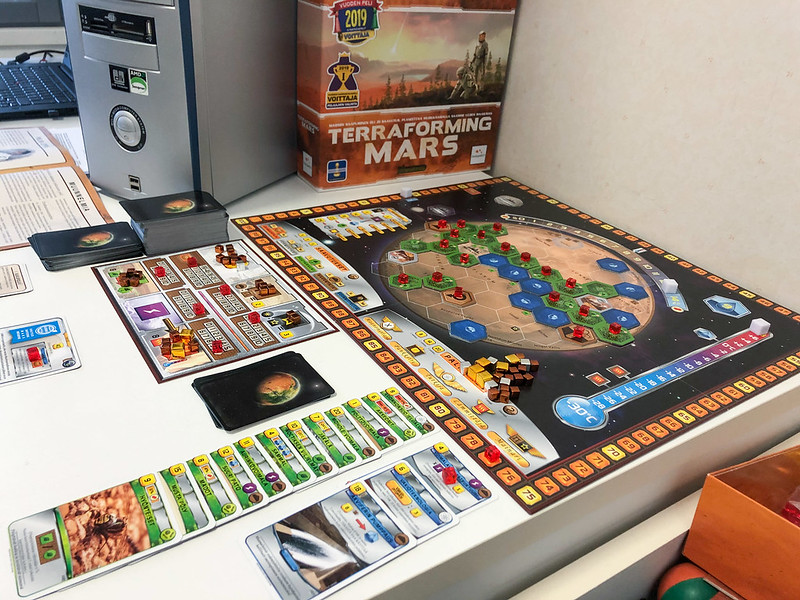 Terraforming Mars - almost through