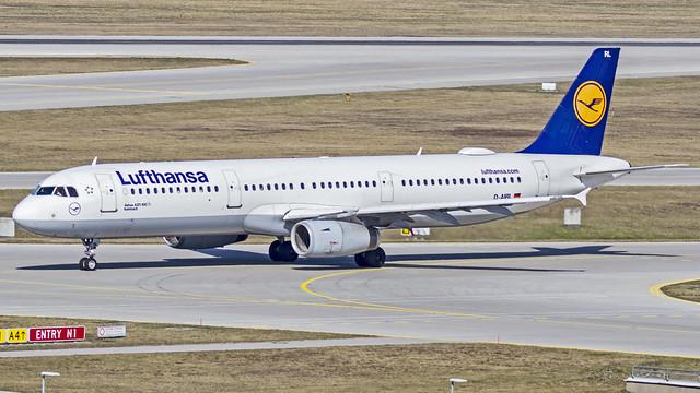 Lufthansa Airbus A321 D-AIRL