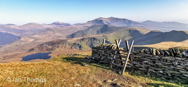 A View To Remember In Snowdonia After Cycling Up Mount Eilio
